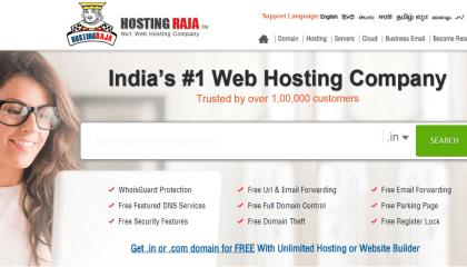HostingRaja – One Of The Best Web Hostingsin India
