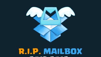 Bye Bye Mailbox!