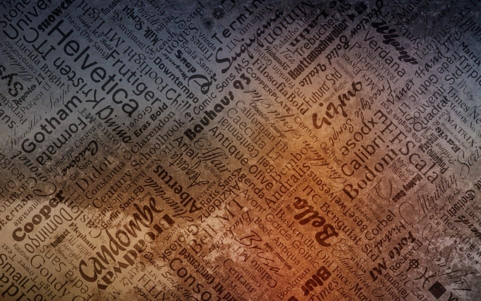 Typography_wallpaper