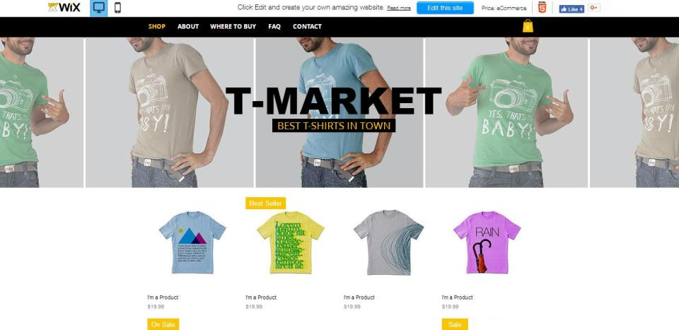 Why you should be using Wix Stores to create your Online Store? 2