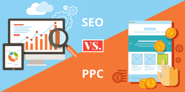 seo ppc 600x301 - The top 3 differences between SEO and PPC