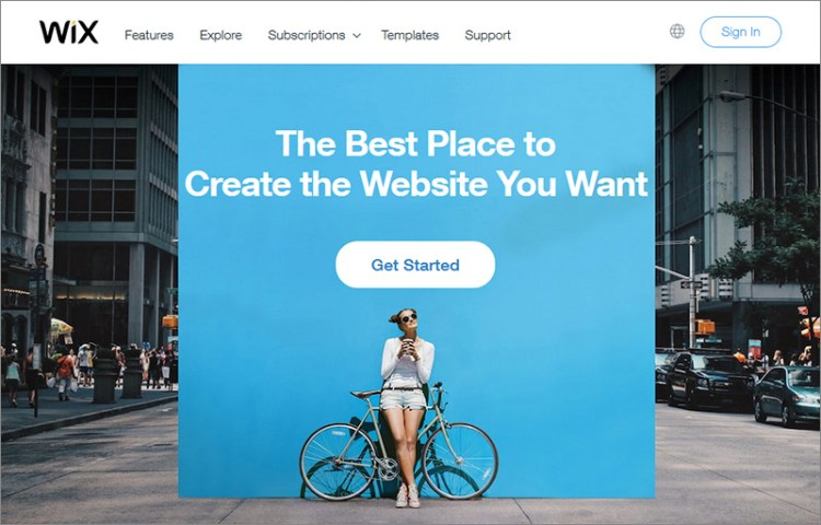 Wix - One of the best free website builders on the planet