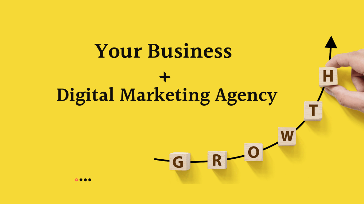 Your business + digital marketing agency = growth
