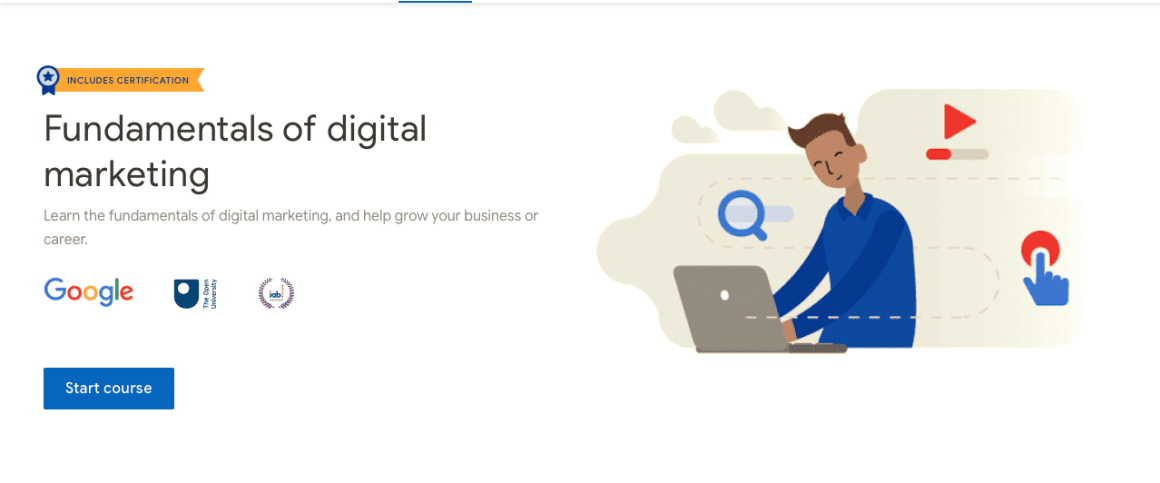 Free Google Courses to Start a Career in Digital Marketing