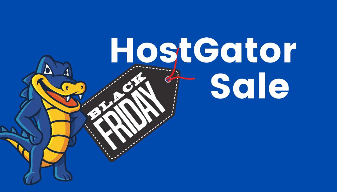 hostgator web hosting black friday