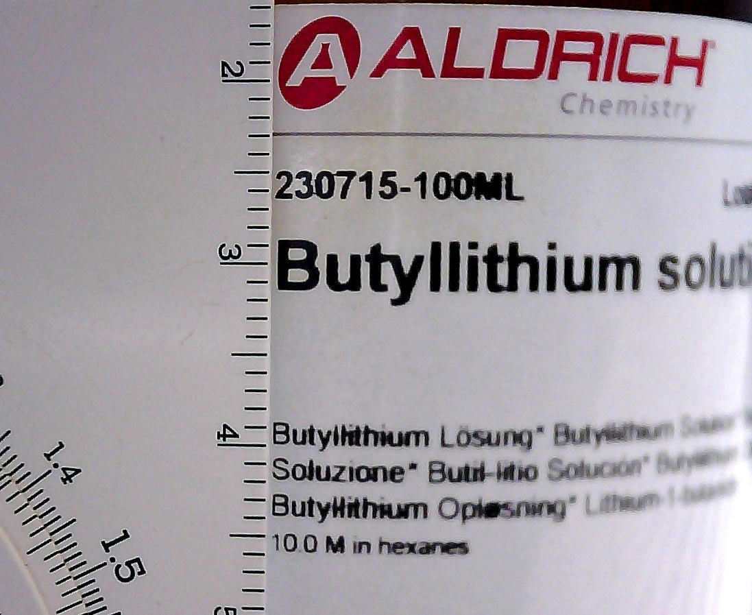 Microscopic Printing On Aldrich Chemical Labels