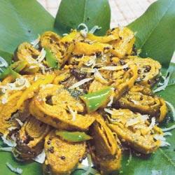 बरसात का खास व्यंजन – अरबी के पत्तों की सब्जी