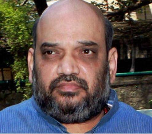 गुजरात के पूर्व गृह राज्यमंत्री व भाजपा महासचिव अमित शाह