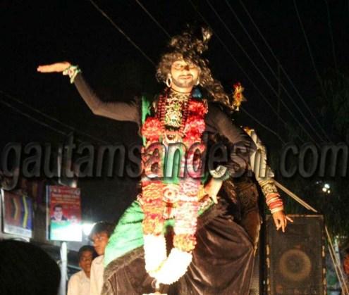 राम बारात का मनमोहक दृश्य।