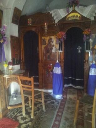 la chapelle orthodoxe du monastère