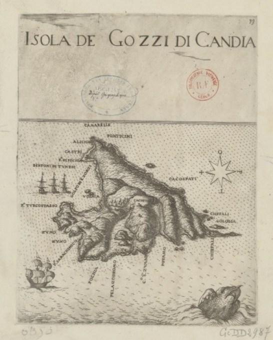 map old gavdos