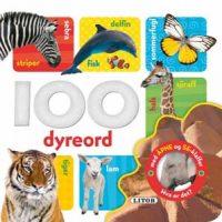 Bok - 100 dyreord / Med åpne og se-klaffer Image