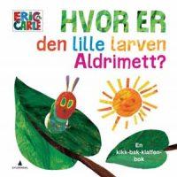 Bok - Hvor er den lille larven Aldrimett? Image