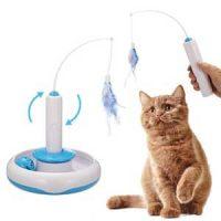 Elektrisk katteleke med fjær Image
