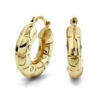 Gullørepynt 9 carat crueler Image