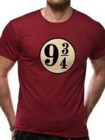 Harry Potter - Platform 9 3/4S T-skjorte Unisex Image