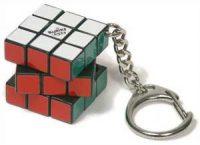 Rubiks kube med nøkkelring Image