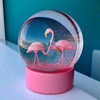 Snøkule - Flamingo Image