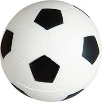 Stressball formet som en fotball Image