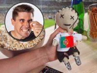 Voodoo-dukke med flagg Image