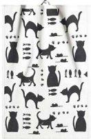 Kjøkkenhåndduk - katt Image