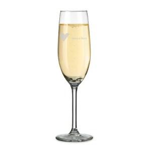 Champagneglass med navn Image