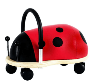gaver til baby, wheely bug, Julegaver til piger