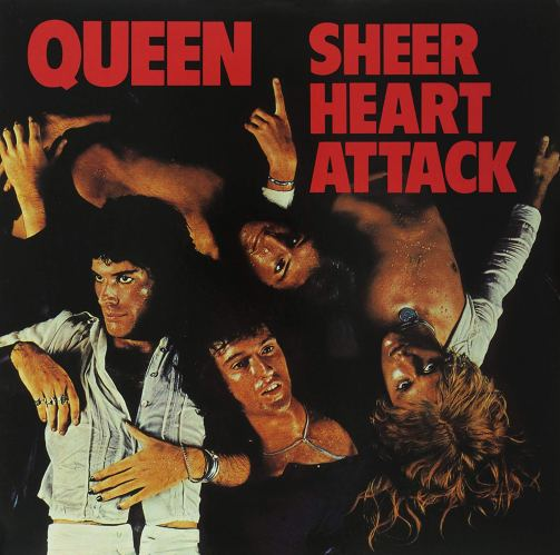Mick Rock Queen Sheer Heart Attack