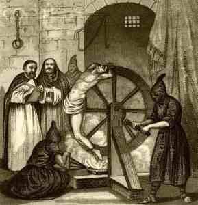 A Roda - Santa Inquisição - tortura medieval
