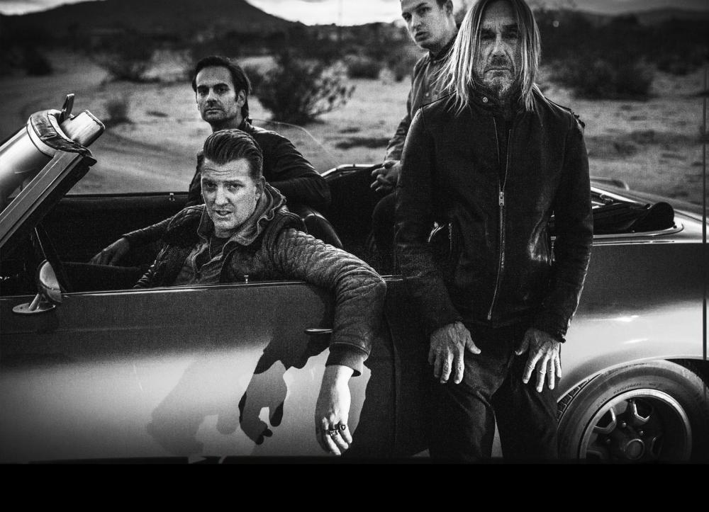 Joshua Homme Dean Fertita Iggy Pop