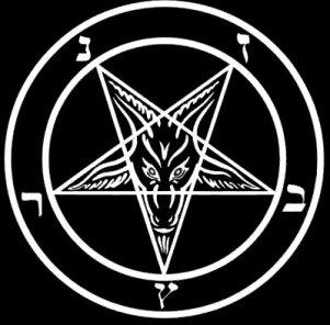 Baphomet satânico pentagrama, pentáculo, pentagram invertido, pentagram satânico, pentagono, simbolo,, magia, esoterismo, significado