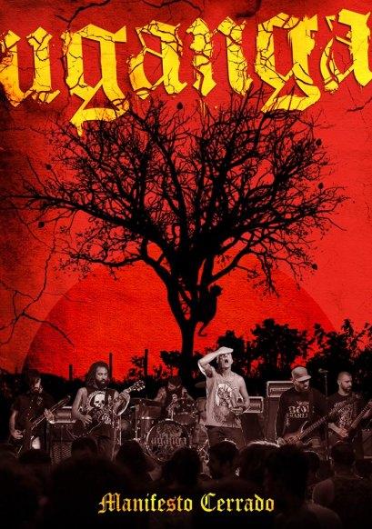 """Capa do DVD """"Manifesto Cerrado"""", que será lançado ainda este ano."""