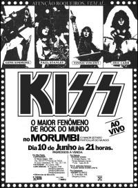 Kiss Brasil 1983 Morumbi