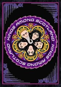 Anthrax Kings Among Scotland DVD cover Among the Livin