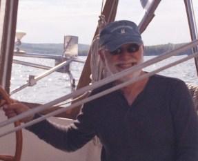 June 3 Carl Berdie at the helm