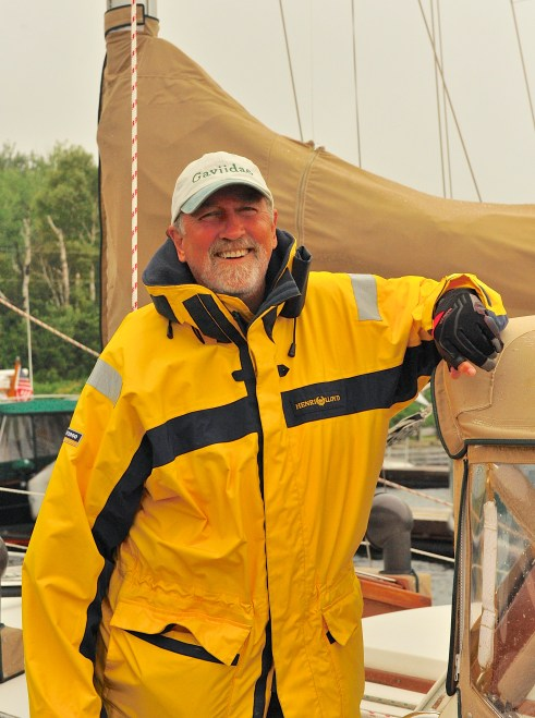 July 17 Daniel-a very happy sailor after a great day of sailing