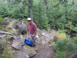 August 11 Hiking at Sinclair Cove