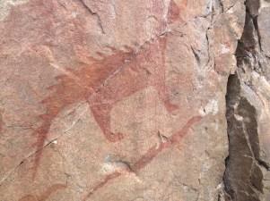 The Petroglyph Lynx at Agawa