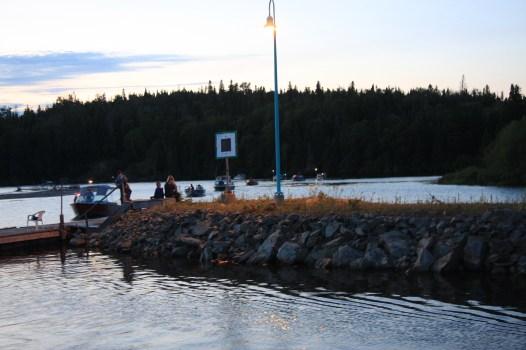 August 21 The fishermen return