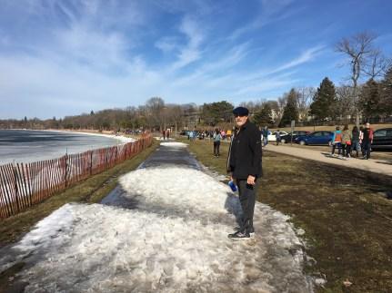February 27 and 62 degrees F at Lake Calhoun