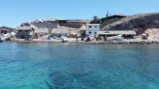 April 20 The fishing village at Isla Coyote, photo by Kathy Crothers