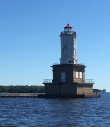 June 28 Lower Entry Lighthouse at the eastern end of the Keweenaw Waterway