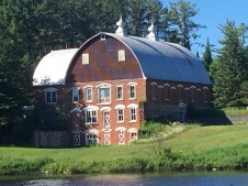 June 28 Old Barn along the Keweenaw Waterway