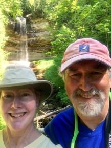 July 3 Bike/Hike to Munising Falls