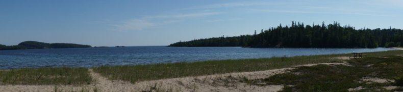 July 20 White Sand beach in Warp Bay