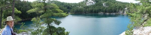 August 31 Panorama of Topaz Lake