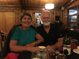 September 3 New friends Kathy and Mike - met in Marianne Cove and again in Killarney