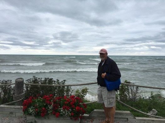 September 30 Waiting for a weather window to cross Lake Huron