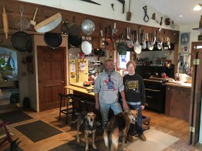 November 29 Mark and Michelle with their pooches