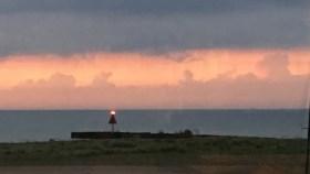 July 13 Sunset at Mentor Harbor
